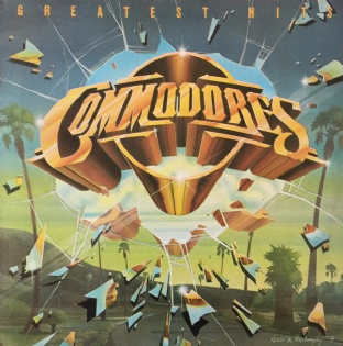 Commodores ‎- Greatest Hits (LP) (VG-EX/VG)
